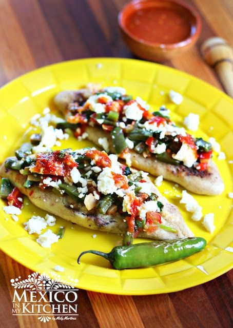 Tlacoyos mexican street food. Something so simple to make yet so wonderful and delicious!