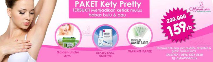 Paket Kety Pretty (Solusi Pemutihkan & Menghilangkan Bau Ketiak Anda) - Aybela.com Toko Online Kecantikan dan Kesehatan