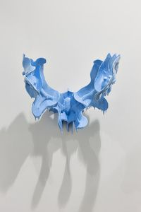 Michael Joo: Man Made Monstrous (Dianoia), 2012 Water based enamel paint on cast polyurethane resin 21 × 26 × 21 in 53.3 × 66 × 53.3 cm Edition 1/1