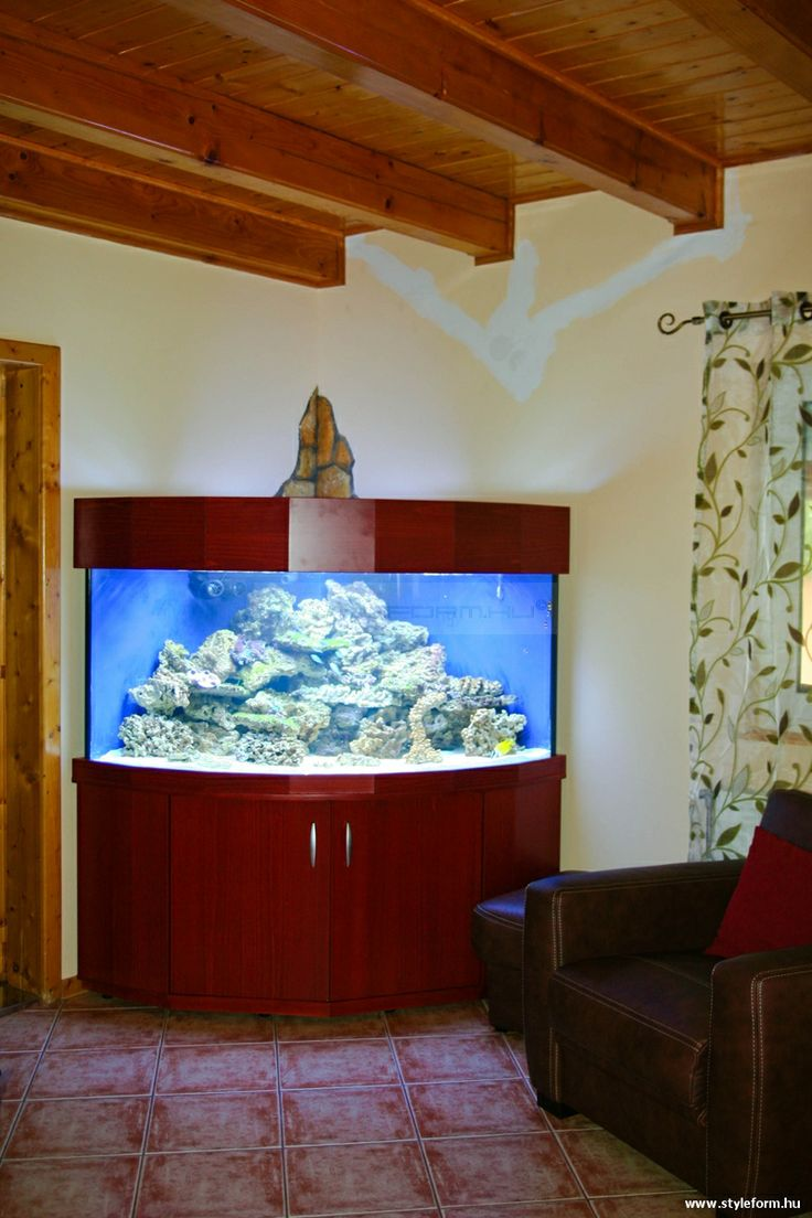 Styleform.hu - Íves tengeri akvárium bútor