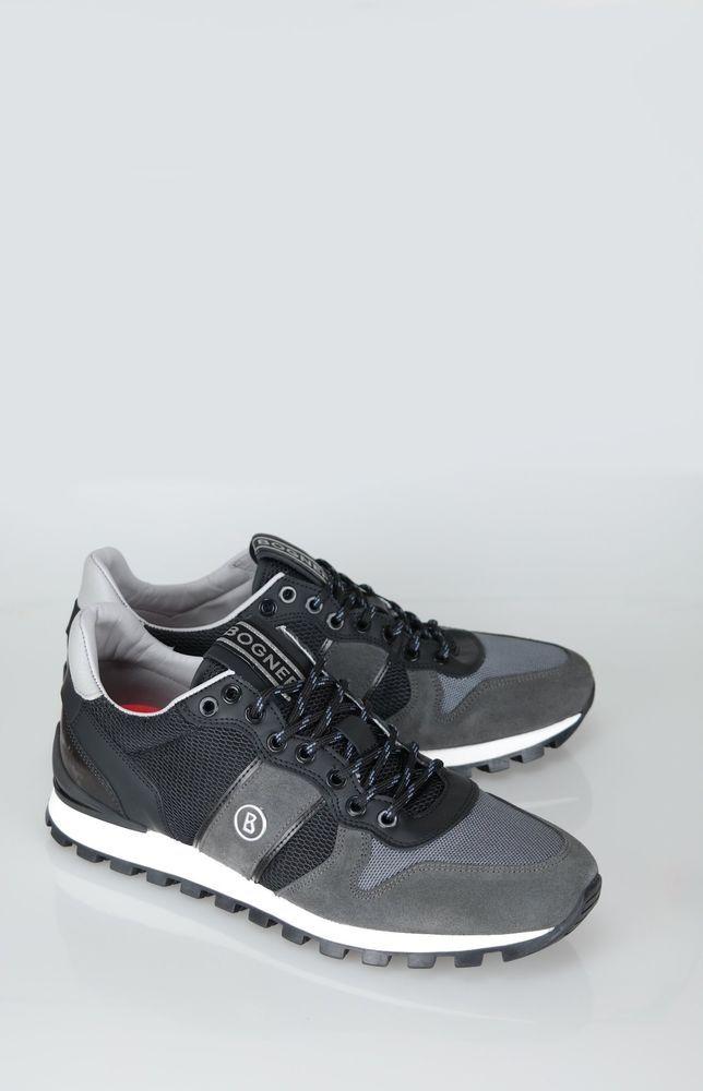 76aea945b0c eBay  Sponsored Bogner Men s Sneakers 1A-76 Size  42 Eu to 46 Eu  Grey Black