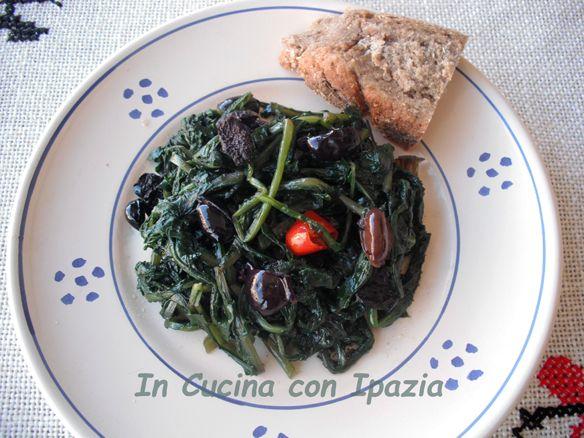 zanguni con olive e peperoncino