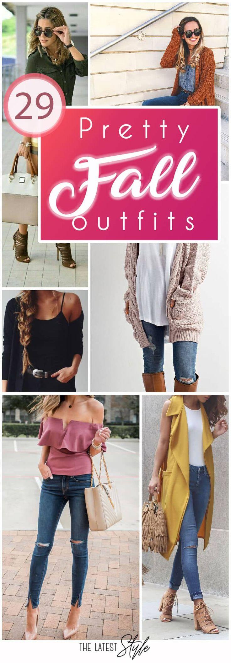 29 Hübsche Herbst Outfits