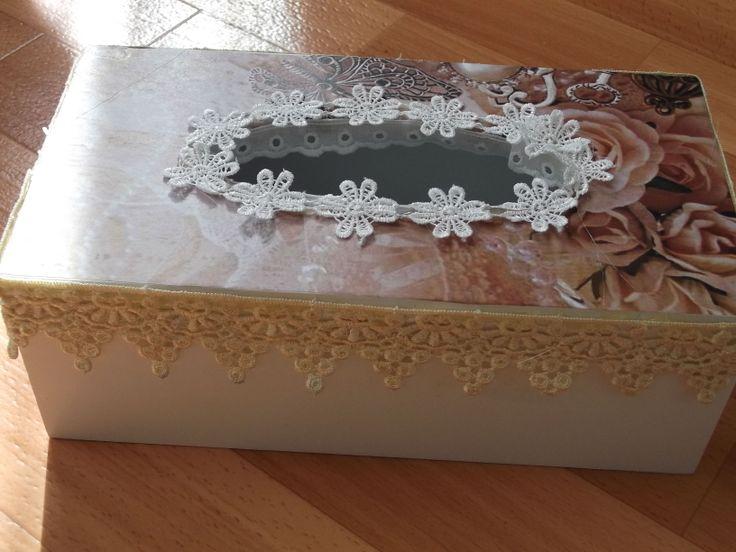 Een tissuebox gepimpt