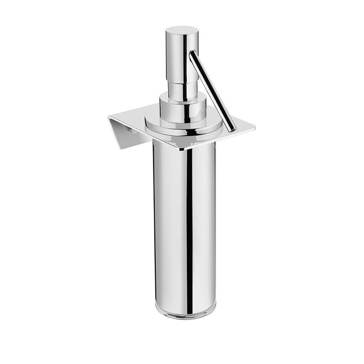 Excellent High End Modern Luxurious Designer Wall Mounted Soap Dispenser In Polished Chrome