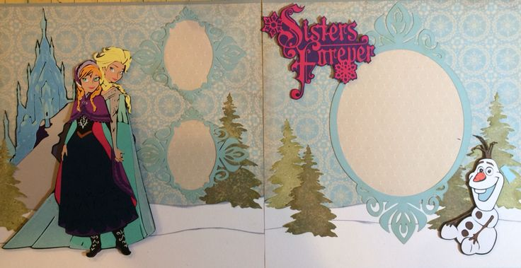 New FROZEN cricut cartridge! Perfect for my two girls!