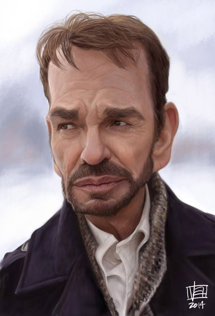 Caricatura de Billy Bob Thornton