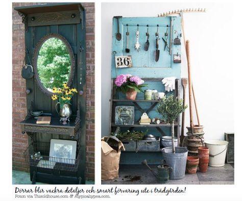 11 saker du kan göra med gamla dörrar! | Bohemchic-bloggen