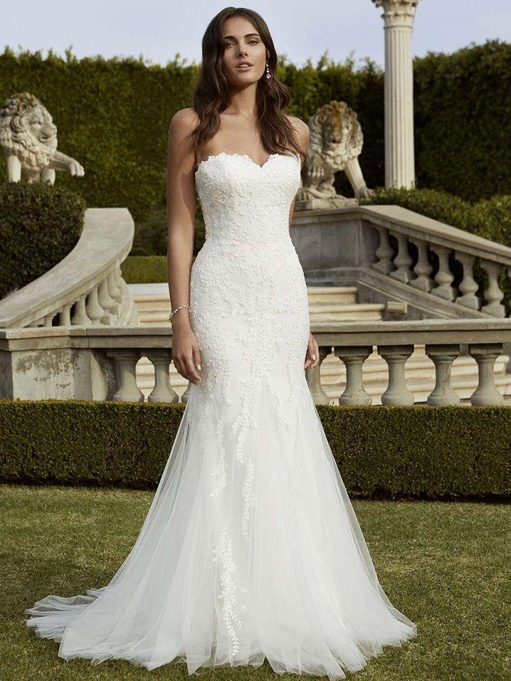 109 best brautkleid images on Pinterest | Weddings, Bridal dresses ...
