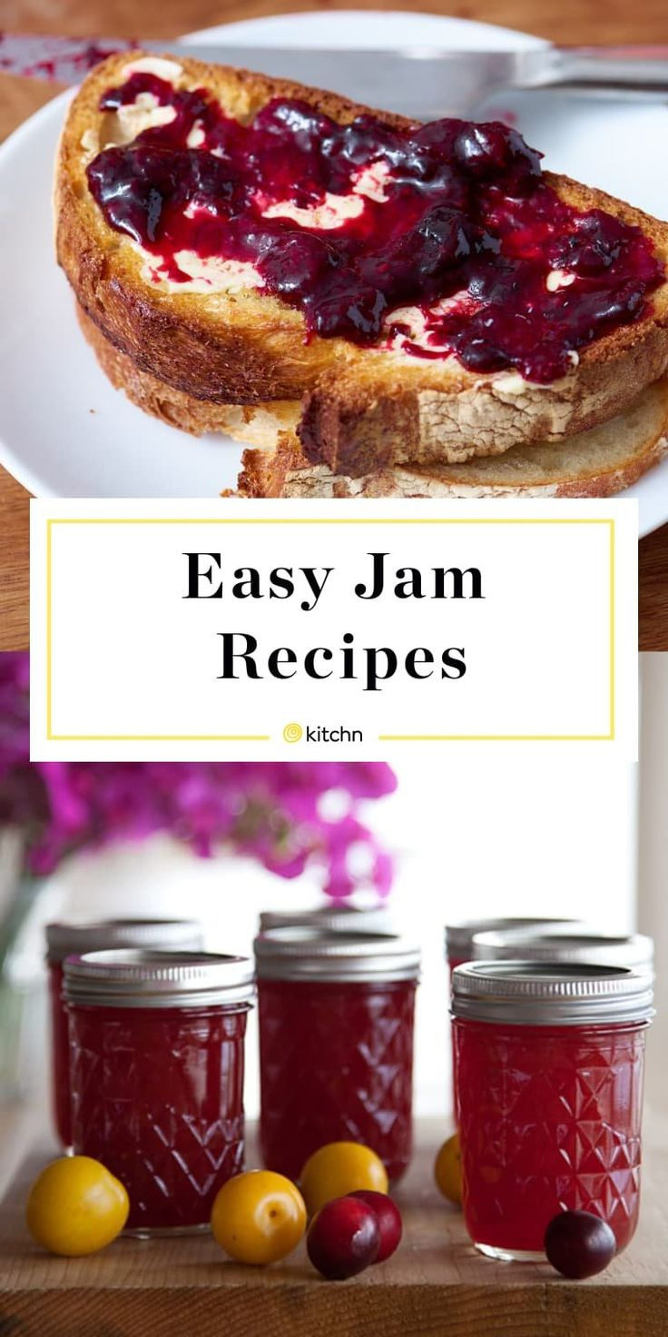 The Very Best Jam Recipes for Beginners
