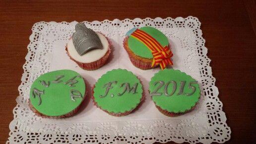 Cupcakes para regalar a la nueva Fallera Mayor!