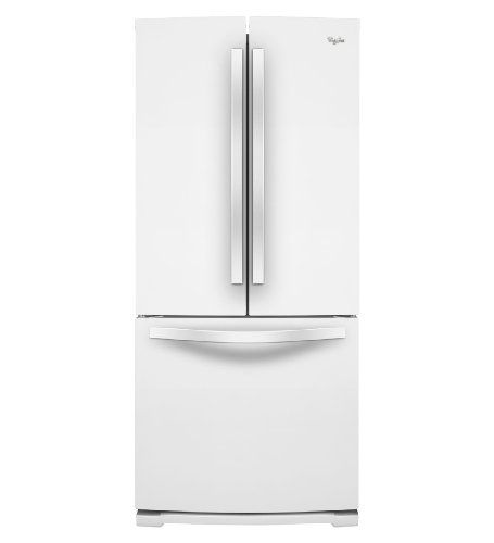 Whirlpool WRF560SMYW 19.6 Cu. Ft. White French Door Refrigerator - Energy Star