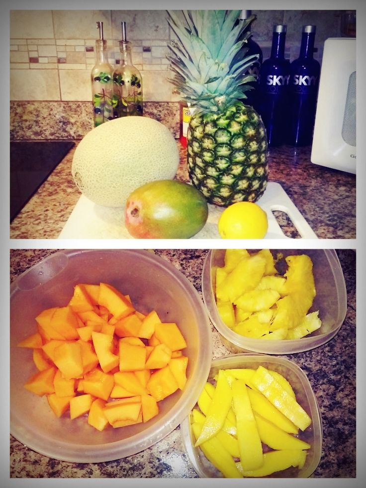 How to survive the GM Diet: Day 1 Fruit Day: A day full of color