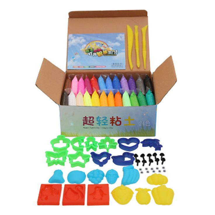NEW 24colors 24pcs Soft Polymer Modelling Clay /set/box with tools good package FIMO Effect Blocks Special Toys DIY polymer clay - http://toysfromchina.net/?product=new-24colors-24pcs-soft-polymer-modelling-clay-set-box-with-tools-good-package-fimo-effect-blocks-special-toys-diy-polymer-clay