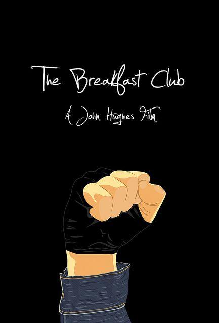 The Breakfast Club (1985) - Minimal Movie Poster by Jordan A