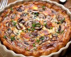 Quiche express minceur aux champignons : http://www.fourchette-et-bikini.fr/recettes/recettes-minceur/quiche-express-minceur-aux-champignons.html