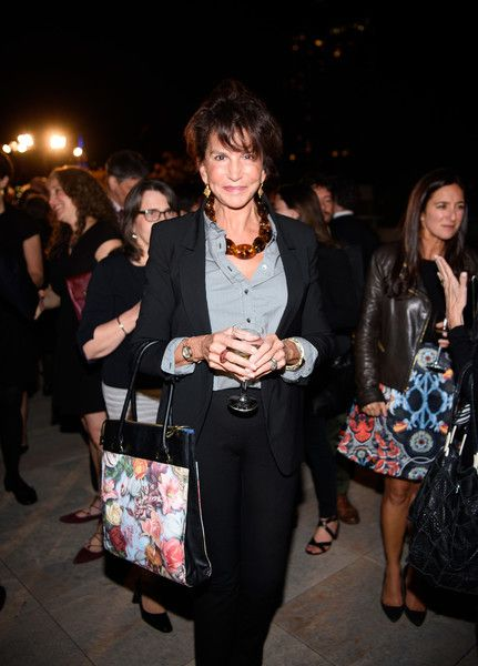Mercedes Ruehl Photos Photos - Mercedes Ruehl arrives at  the Coalition Against Trafficking In Women honoring Lynn And John Savarese at Tribeca Rooftop on October 5, 2016 in New York City. - Coalition Against Trafficking in Women Honors Lynn and John Savarese