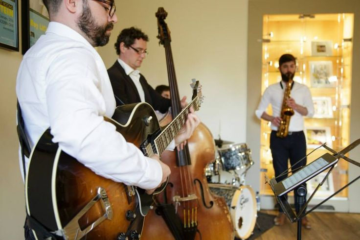 Jazz band | Summer Party at Café Modern One, Scottish National Gallery of Modern Art One