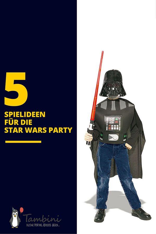 Hier gibt's Spiele für den Star Wars Kindergeburtstag!
