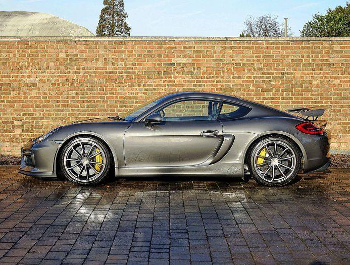 2016 (65) Porsche Cayman GT4   Agate Grey