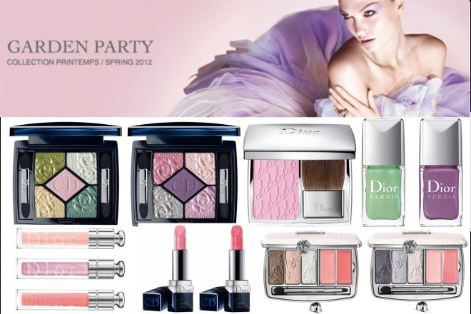 Dior Glowing Gardens Collection Spring 2016 - Весенняя коллекция 2016 от Диор