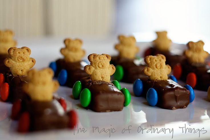 The Magic of Ordinary Things: TEDDY BEAR RACE CARS