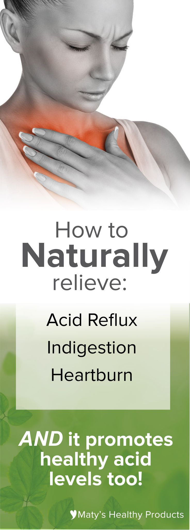 Ever wondered how to naturally relieve heartburn or indigestion? This natural remedy for heartburn and acid indigestion uses whole-food ingredients to safely get rid of your heartburn, reflux, indigestion and GERD.
