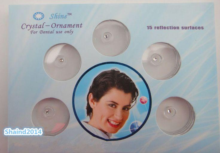 1 Set Clear Dental Tooth Crystal Ornaments Tooth Gems Teeth Jewelry Gem #Shaind2014