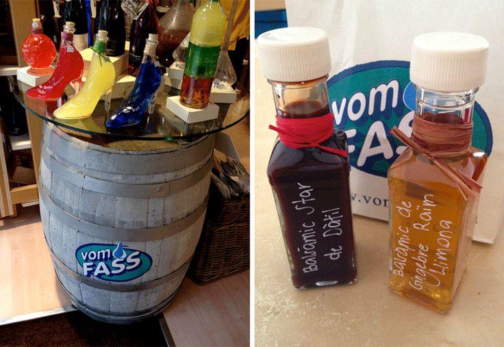 Botellas-vinagre-balsamico-tienda-vom-fass-barcelona