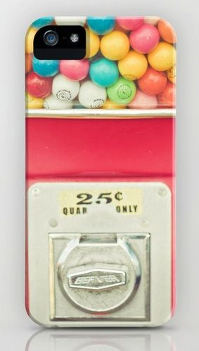 Rainbow Bubblegum iPhone Case ~If only it actually worked and/or rained Bubblegum like in Bedtime Stories~