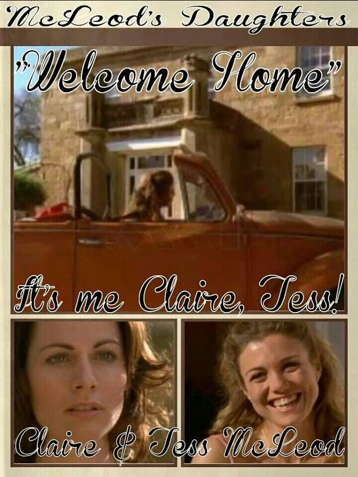 """McLeod's Daughters Wallpaper by Elizabeth McFarland- """"Welcome Home"""""""