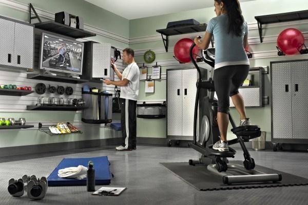 Gladiator garageworks products in home gym organization