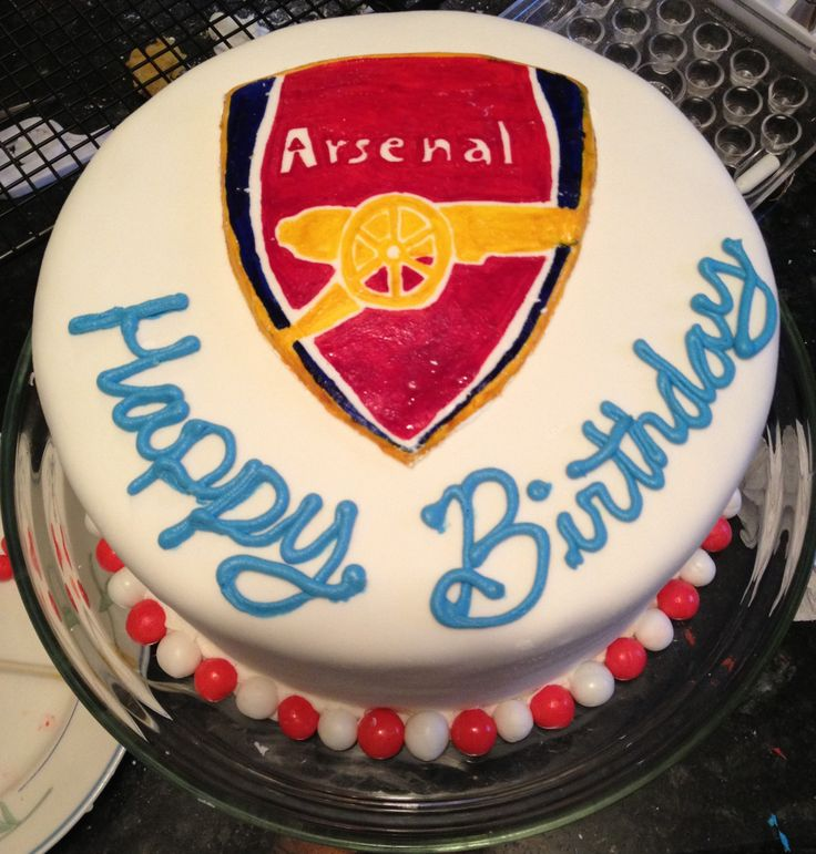 Arsenal Birthday Cakes Images
