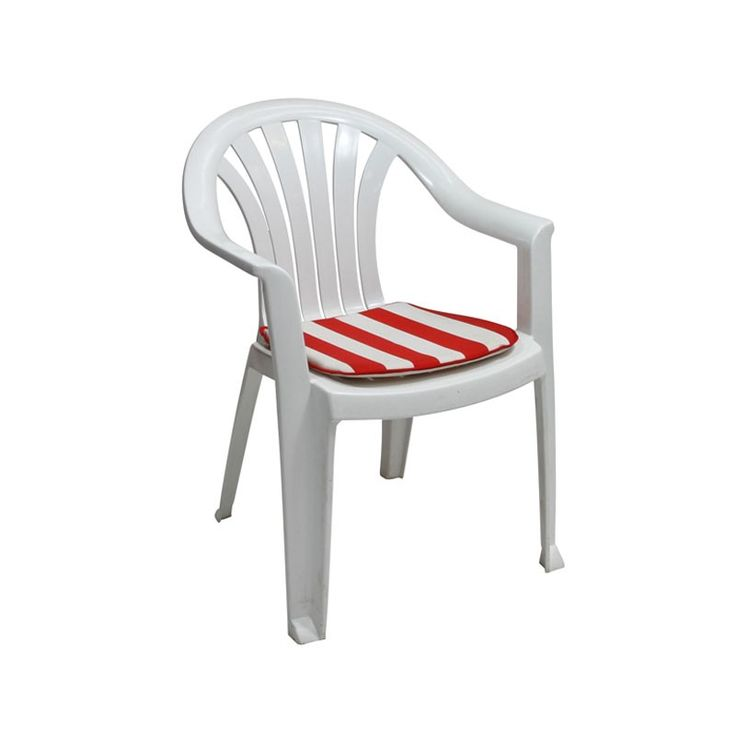 Plastic Patio Chair   An Popular White Plastic Garden Furniture Set That  Provides Convenient Outdoor Dining