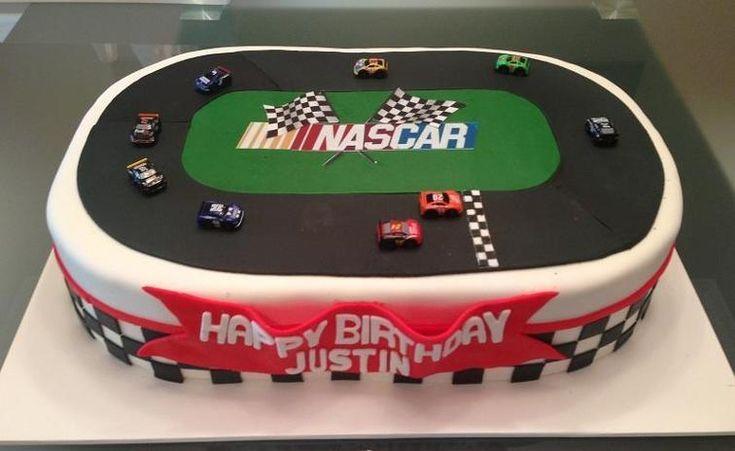 Nascar Cake | Craftsy