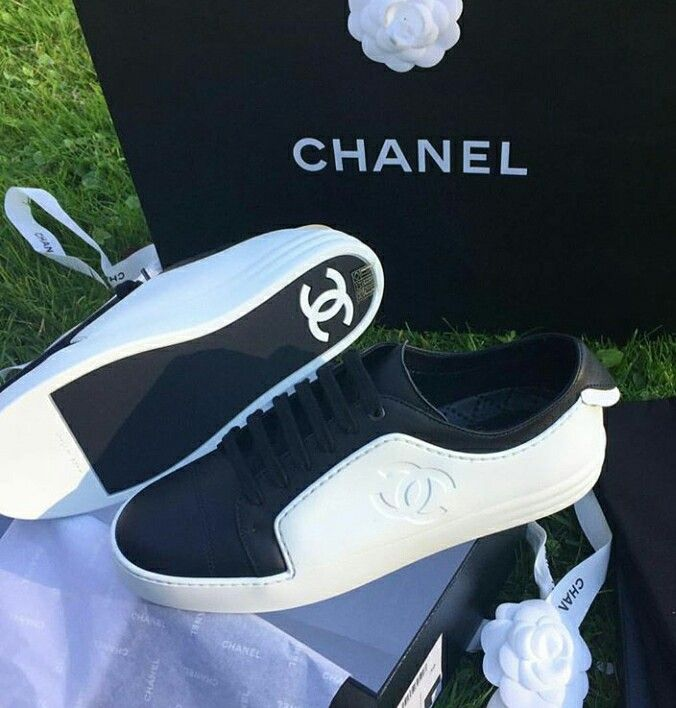 finest selection 023b2 5224b Chanel Sneakers, Chanel Shoes, Coco Chanel