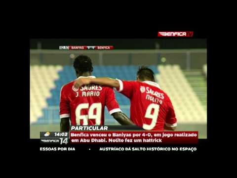 Particular, SL Benfica 4-0 Baniyas