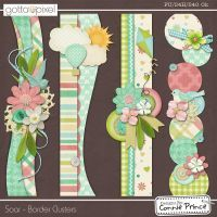 Connie Prince: Amazing Border Ideas,  and ideas for Layouts and Titles