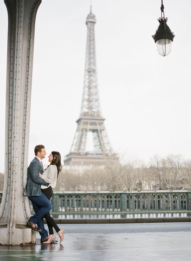 Greg Finck | Fine Art Wedding Photography | A winter engagement session in Paris | http://www.gregfinck.com