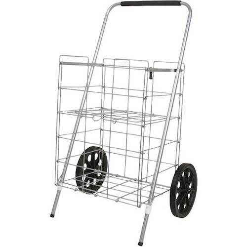 Helping Hand - 2-Wheel Folding Cart - Silver