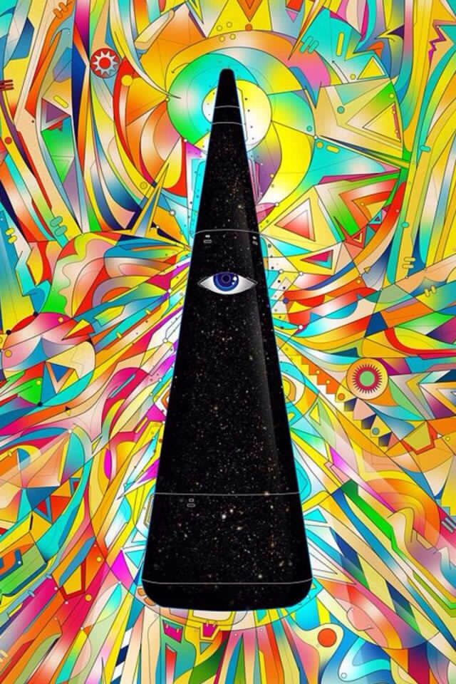 psychedelic peace signs pics | one more time Hippie Art | Hippie ...