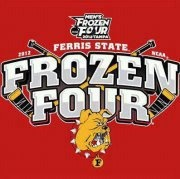 Ferris State Bulldogs Hockey Finals of the Frozen Four 2012.  Lets go Bulldogs!