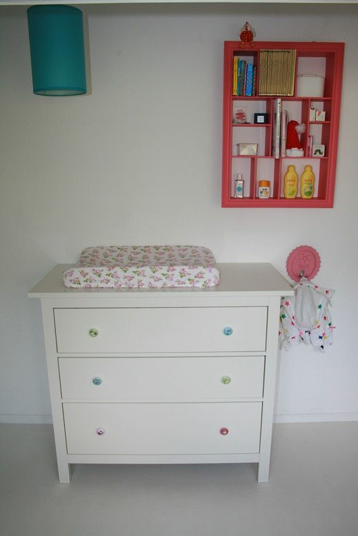 Ikea commode  Babykamer  Pinterest  Ikea -> Peindre Commode Ikea