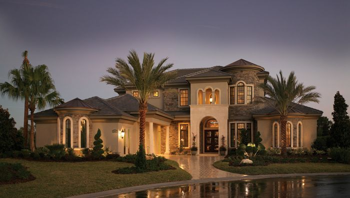 Jacaranda v by arthur rutenberg florida luxury custom for Custom home plans florida