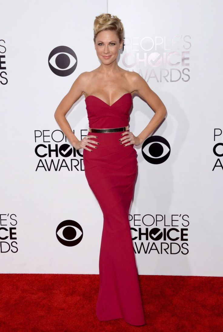 """She's the star of the new hit TV series """"Awkward"""" and she was the star of the red carpet when she donned a breathtaking figure-hugging fuchsia gown at the People's Choice Awards on Jan. 8, 2014."""