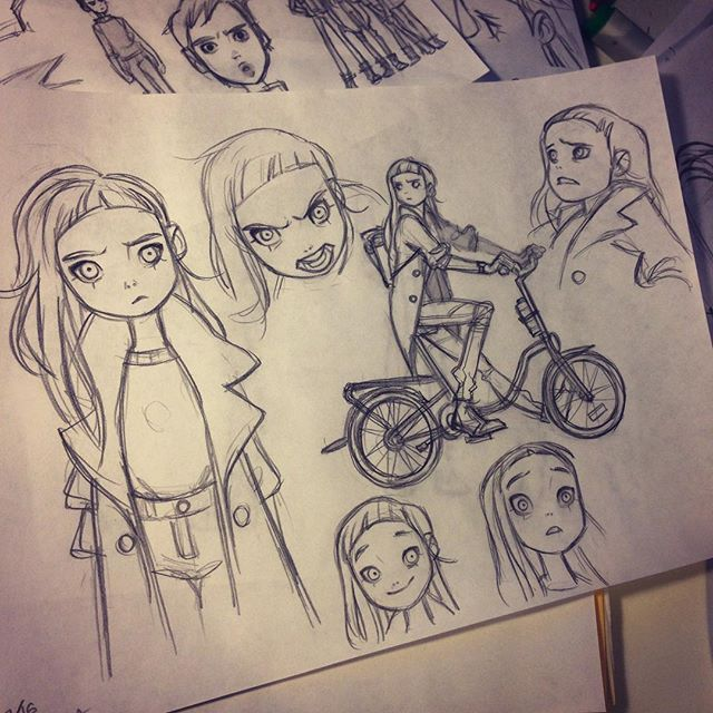 Instagram media by anna_cattish -  #sketching #alabamacomics #tanka