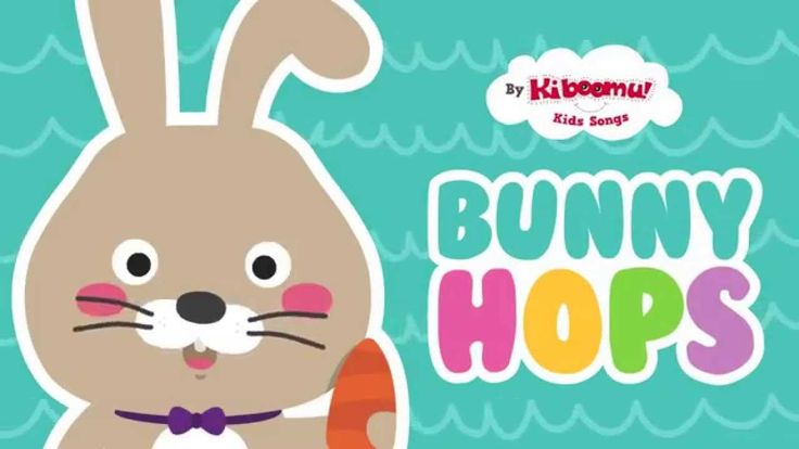 """This is the Way the Bunny Hops"" is a simple and fun #Easter song for #children to dance and sing along to!  #eastersongsforchildren"