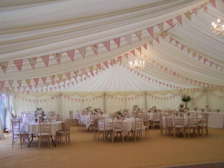 Wedding bunting 10 m of handmade fabric bunting. Vintage style. Shabby chic.Pink | eBay