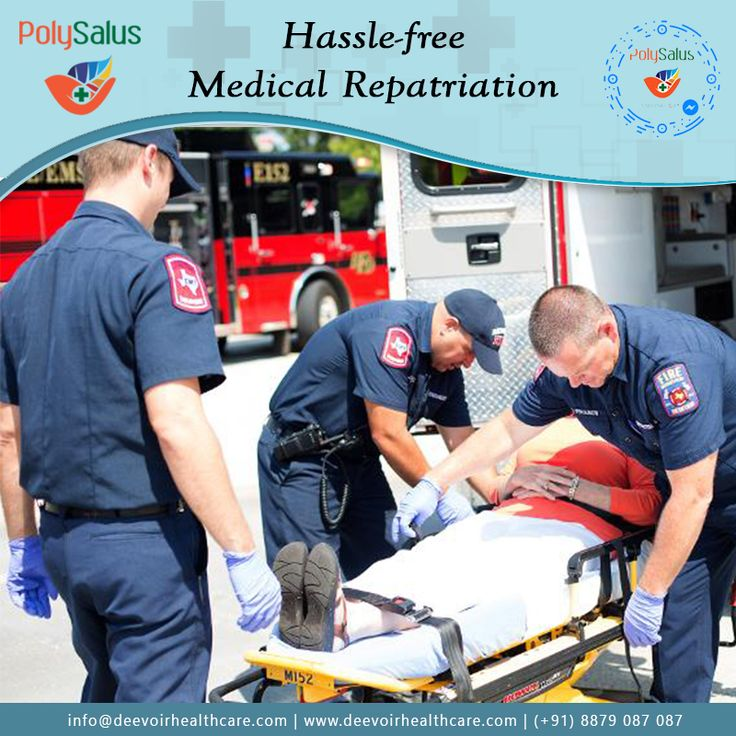 Get transport back to home or to a #rehabilitation facility under medical supervision in case of emergency.