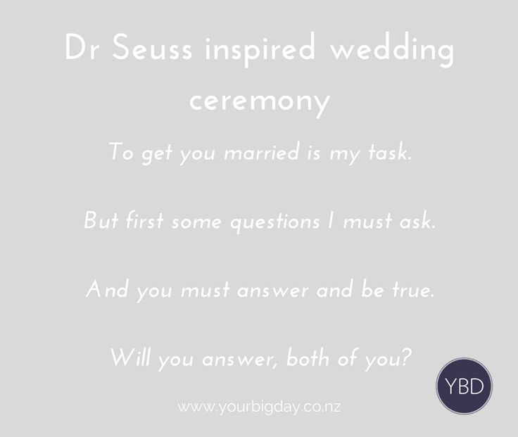 Queenstown Wedding Blog - Dr Seuss Inspired Wedding Ceremony and Vows